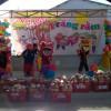 Trẻ tham gia thi múa lân trong Vui hội Trăng rằm