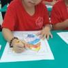 Hình ảnh tổ chức hội thi: Mầm cọ xinh lớp nhỡ 1-2
