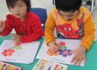 """Hình ảnh: Hội thi """"Bé khéo tay"""" lớp 3 tuổi"""