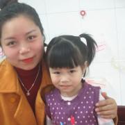 Chị Hoài Thương, phụ huynh bé Lê Nguyễn Gia Hân – Lớp Nhà trẻ