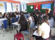 Trường MN Đại Phong tổ chức chuyên đề giáo dục phát triển tình cảm và kỹ năng xã hội