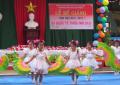 Trường Mn Đại Phong tổ chức cho trẻ vui hội Quốc tế thiếu nhi 1-6.