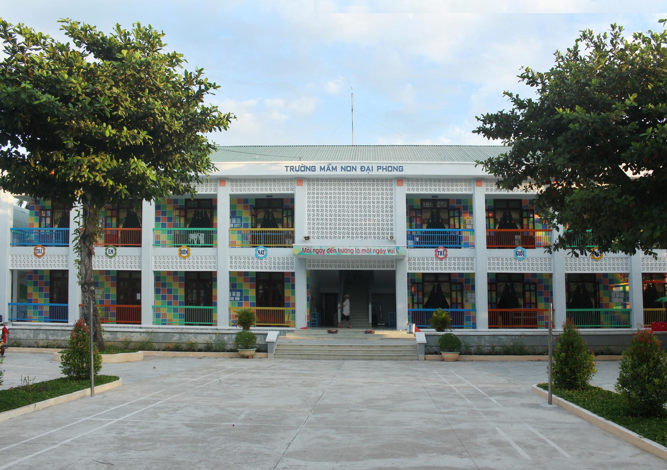 Cảnh quang Trường Mầm non Đại Phong